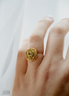 Rankų darbo žiedas - Jolanta Daubaraitė