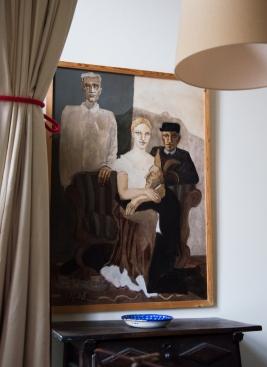 """Annemieke paveikslas įkvėptas Tomo Mano romano ,,Užburtas kalnas""""."""